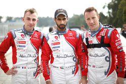 Stéphane Lefebvre, Khalid Al Qassimi, Kris Meeke, Citroën World Rally Team