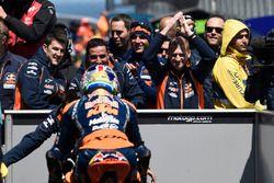 Yarış galibi Brad Binder, Red Bull KTM Ajo