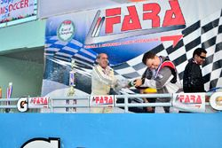 FARA Race of Champions MP4C podium