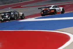 #88 Proton Racing Porsche 911 RSR: Khaled Al Qubaisi, David Heinemeier Hansson, Kevin Estre, #86 Gulf Racing Porsche 911 RSR: Michael Wainwright, Adam Carroll, Ben Barker