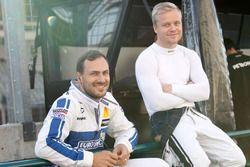 Gary Paffett, Mercedes-AMG Team ART, Mercedes-AMG C63 DTM en Felix Rosenqvist, Mercedes-AMG Team ART