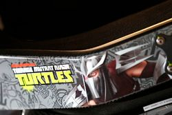 Teenage Mutant Ninja Turtles logo, Darrell Wallace Jr., Roush Fenway Racing Ford