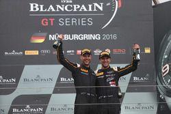 Endurance Cup Champion #58 Garage 59, McLaren 650 S GT3: Rob Bell, Côme Ledogar