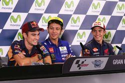 Dani Pedrosa, Repsol Honda Team, Valentino Rossi, Yamaha Factory Racing, Marc Márquez, Repsol Honda