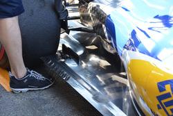 Il fondo della Sauber C35