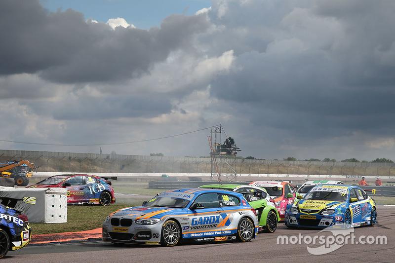 Martin Depper, Eurotech Racing runs out