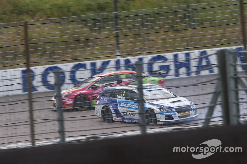 Colin Turkington, Silverline Subaru BMR Racing spin atıyor