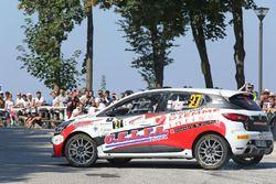 Luca Panzani, Sara Baldacci Renault Clio R R3T #27