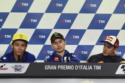 Valentino Rossi, Yamaha Factory Racing, Jorge Lorenzo, Yamaha Factory Racing, Marc Marquez, Repsol H