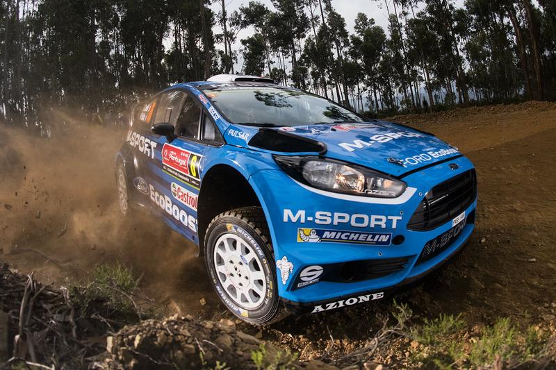 Эрик Камилли и Бенжамен Вейя, M-Sport Ford Fiesta WRC