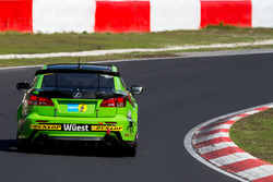#53 Ring Racing, Lexus ISF CCS-R: Christoph Wüest, Thomas Lampert