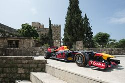 The Red Bull RB7 in Jbeil, Lebanon