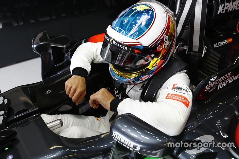 Monaco 2016 - Fernando Alonso, McLaren