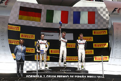 Podium: 1. Matteo Cairoli, 2. Sven Müller, 3. Mathieu Jaminet