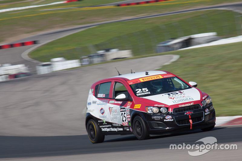 #25 Tech Sport Racing Chevrolet Sonic: P.J. Groenke