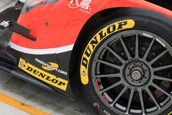 Detail: #25 CEFC Manor Oreca 07 Gibson, mit Logo von Motorsport.com