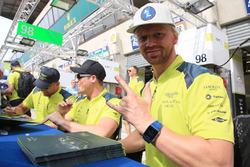 Nicki Thiim, Marco Sorensen, Richie Stanaway, Aston Martin Racing