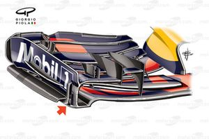 Red Bull RB13 front wing, Canadian GP