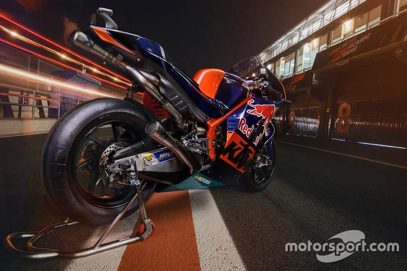 Bike of Mika Kallio, Red Bull KTM Factory Racing