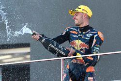 Podium : Brad Binder, Red Bull KTM Ajo, KTM