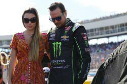 Kurt Busch mit seiner Verlobten Ashley van Metre