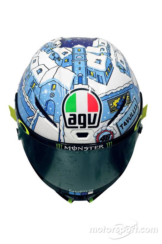 Helm Valentino Rossi, Tes Sepang 2017