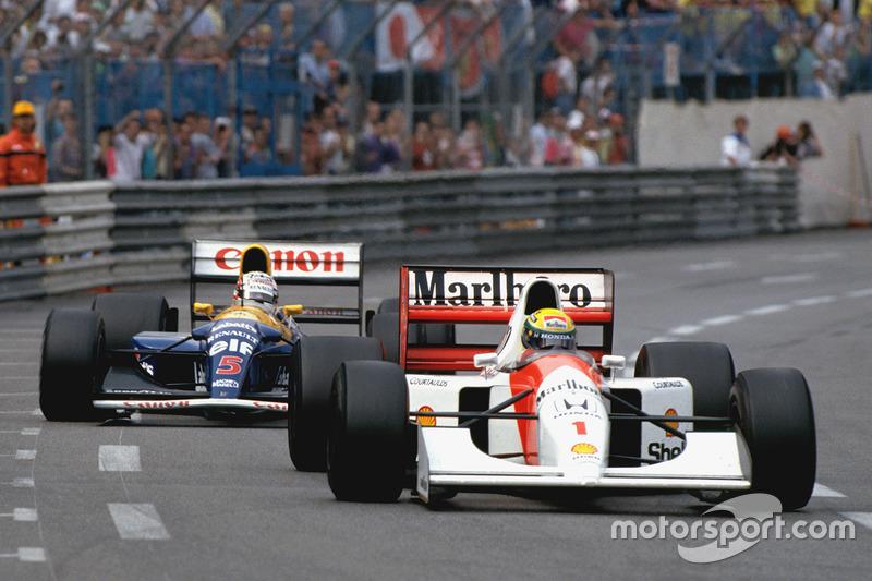 Ayrton Senna - McLaren MP4 / 7A-Honda - GP de Mónaco 1992