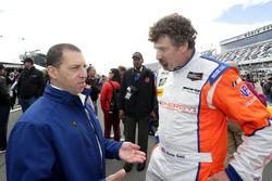 Rob Kaufmann with Boris Said, SunEnergy1 Racing