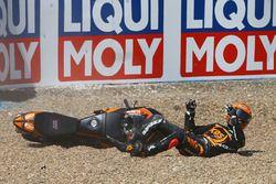 Adam Norrodin, SIC Racing Team crash