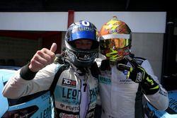 Jean-Karl Vernay, Leopard Racing Team WRT, Volkswagen Golf GTi TCR and Rob Huff, Leopard Racing Team WRT, Volkswagen Golf GTi TCR