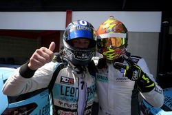 Jean-Karl Vernay, Leopard Racing Team WRT, Volkswagen Golf GTi TCR en Rob Huff, Leopard Racing Team