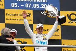 Podium: Race winner Lucas Auer, Mercedes-AMG Team HWA, Mercedes-AMG C63 DTM