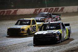Justin Haley, GMS Racing Chevrolet, Grant Enfinger, ThorSport Racing Toyota, and Noah Gragson, Kyle