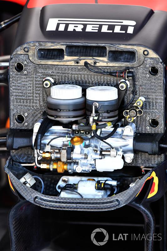 Red Bull Racing RB13 detalle del chasis