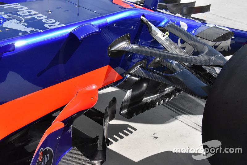 Scuderia Toro Rosso STR12 yan detay