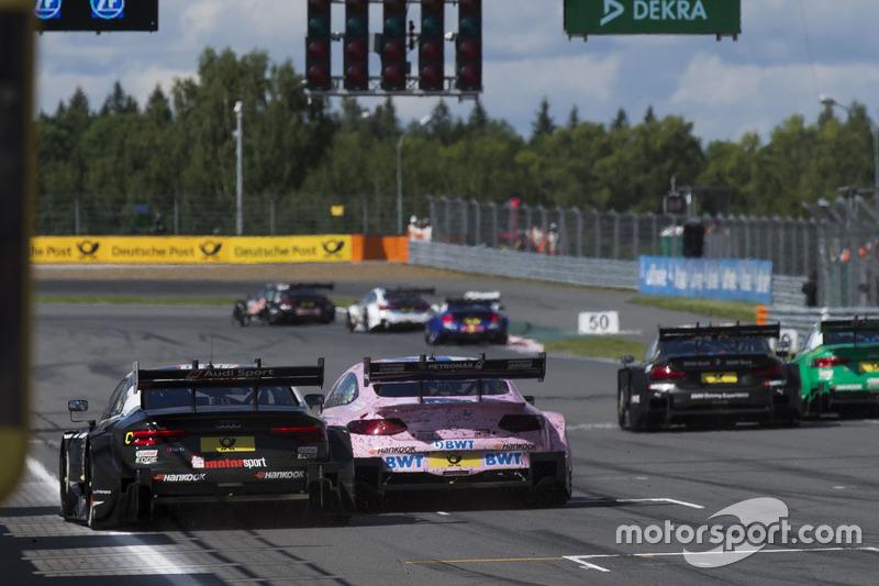 René Rast, Audi Sport Team Rosberg, Audi RS 5 DTM, Lucas Auer, Mercedes-AMG Team HWA, Mercedes-AMG C