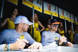 Maro Engel, Mercedes-AMG Team HWA, Mercedes-AMG C63 DTM ed Edoardo Mortara, Mercedes-AMG Team HWA, M