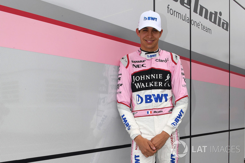 Esteban Ocon, Force India F1