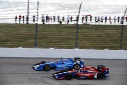 Tony Kanaan, Chip Ganassi Racing Honda Alexander Rossi, Herta - Andretti Autosport Honda