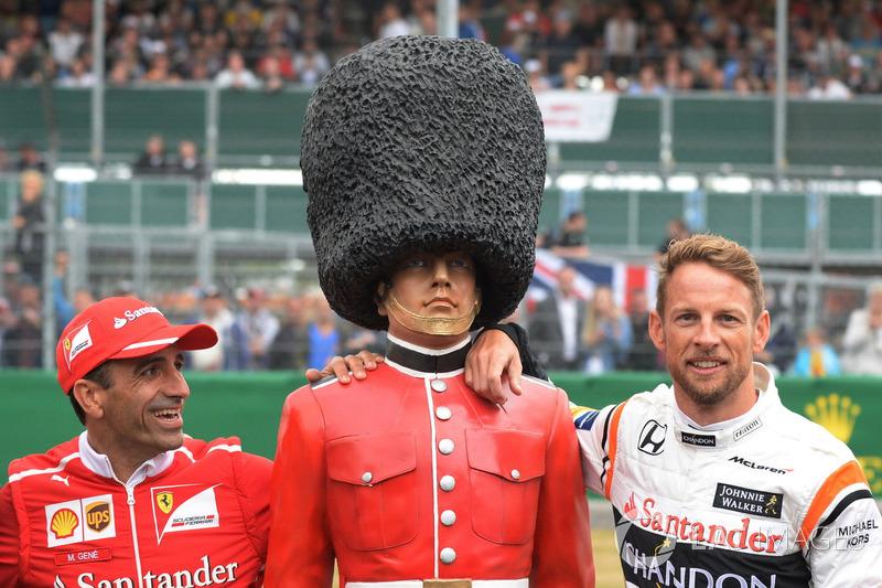 Марк Жене, Ferrari, Дженсон Баттон, McLaren