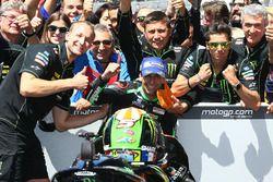 Deuxième place pour Johann Zarco, Monster Yamaha Tech 3