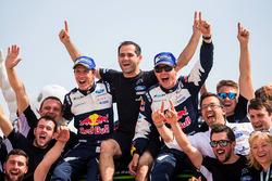 Winnaars Sébastien Ogier, Julien Ingrassia, Ford Fiesta WRC, M-Sport