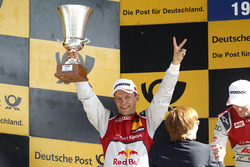Podium: second place Mattias Ekström, Audi Sport Team Abt Sportsline, Audi A5 DTM