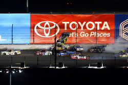 Matt Crafton, ThorSport Racing Toyota, incidente