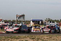 Matias Rossi, Nova Racing Ford, Pedro Gentile, JP Carrera Chevrolet, Martin Serrano, Coiro Dole Racing Chevrolet
