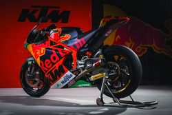 The bike of the Red Bull KTM Ajo Team
