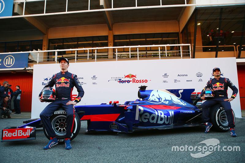 Даниил Квят, Карлос Сайнс, Scuderia Toro Rosso STR12
