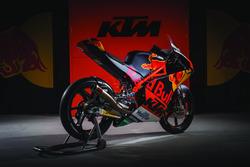 La KTM RC 250 del Red Bull KTM Ajo Team