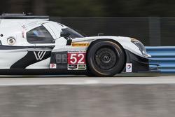 #52 PR1 Mathiasen Motorsports Gibson Ligier JS P217: Michael Guasch, Jose Gutierrez, Olivier Pla