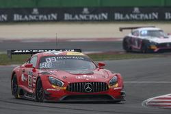 #90 Akka ASP, Mercedes-AMG GT3: Michael Meadows, Raffaele Marciello